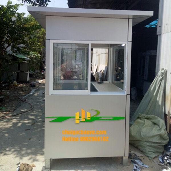 cabin bảo vệ khung thép