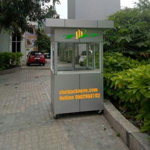 nhà bảo vệ khung thép